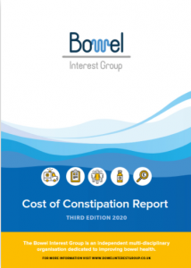 Cost of constipation 202 report cover
