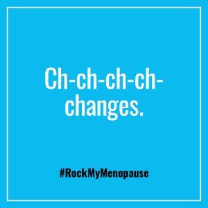 Rock My Menopause Public Facing Women's Health Menopause Campaign Image